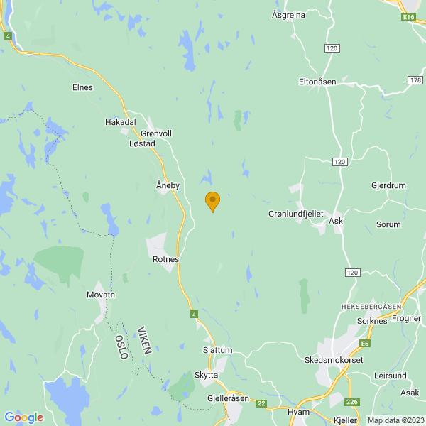 Google Map of 60.0753011,10.915432600000031