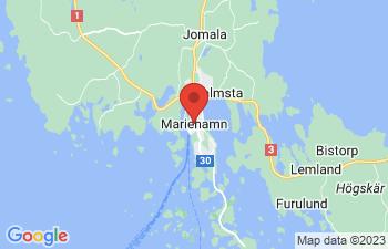 Map of Mariehamn