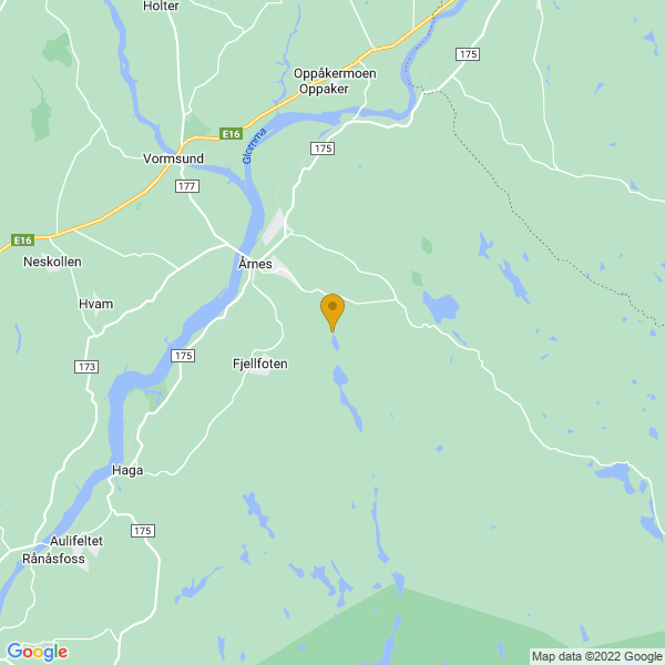Google Map of 60.09981702208429,11.51427575641867