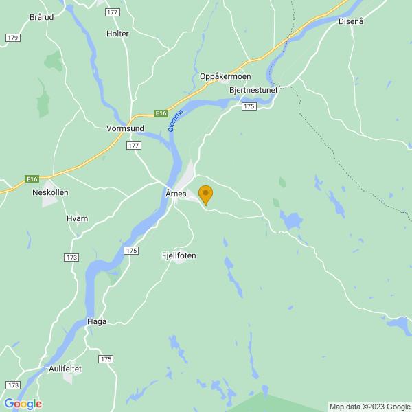 Google Map of 60.11481759999999,11.4962562