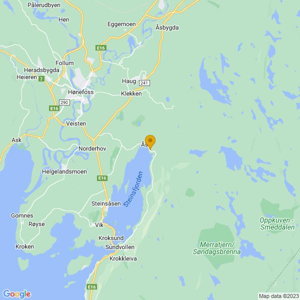 Google Map of 60.12857080000001,10.3514089
