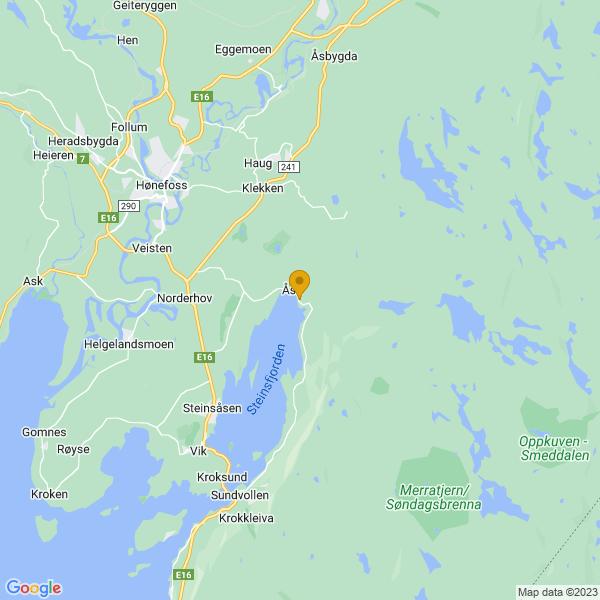 Google Map of 60.128811011548905,10.35084052484982