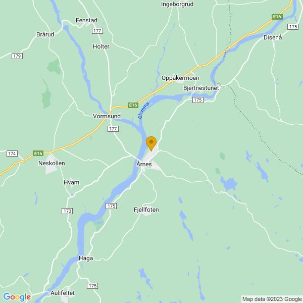 Google Map of 60.129594,11.476325599999996