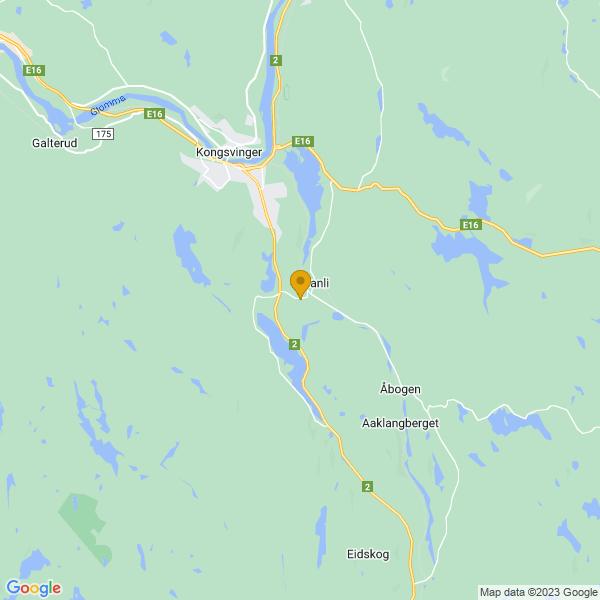 Google Map of 60.141953594049184,12.047203147402605