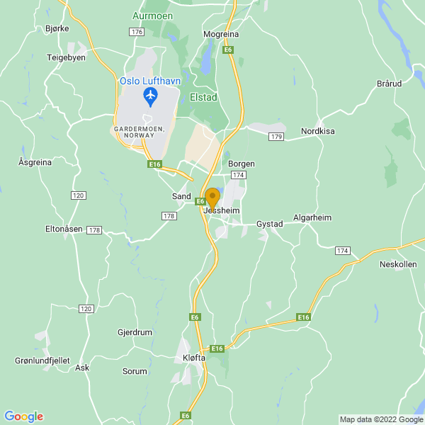 Google Map of 60.1466729,11.1610467