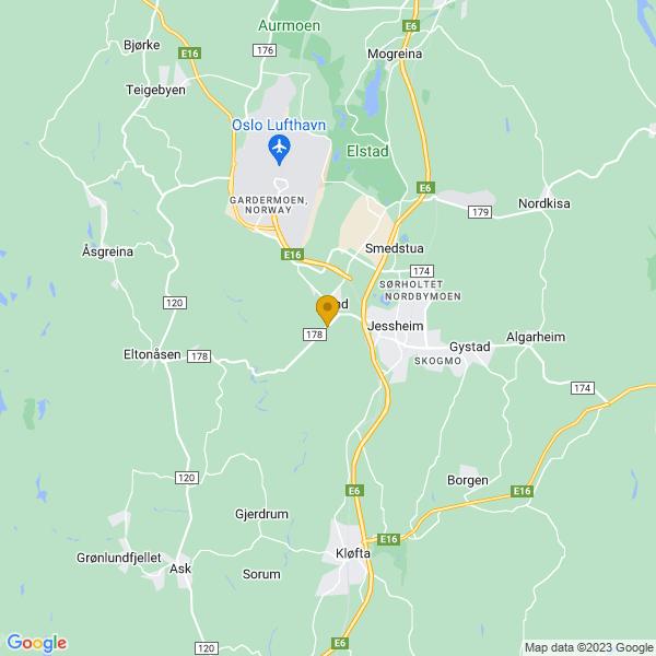 Google Map of 60.147059378270846,11.126832962036133