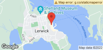 Map of Universal Flowers at 114 Commercial Street, Lerwick, Shetland ZE1 0HX