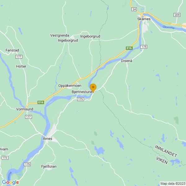 Google Map of 60.1712114,11.5672751