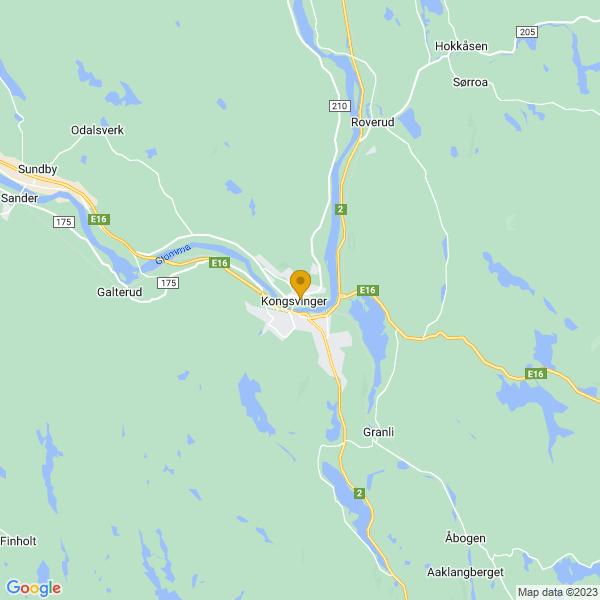 Google Map of 60.19286020516856,12.002721532099826