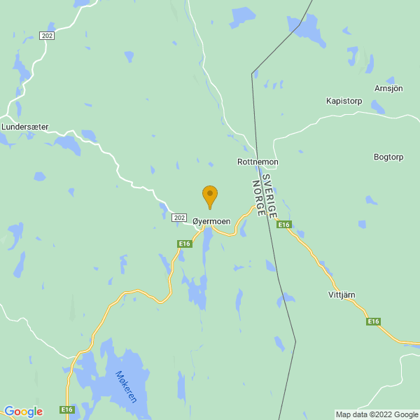 Google Map of 60.25763569999999,12.457504