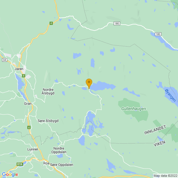 Google Map of 60.3758944,10.7147123