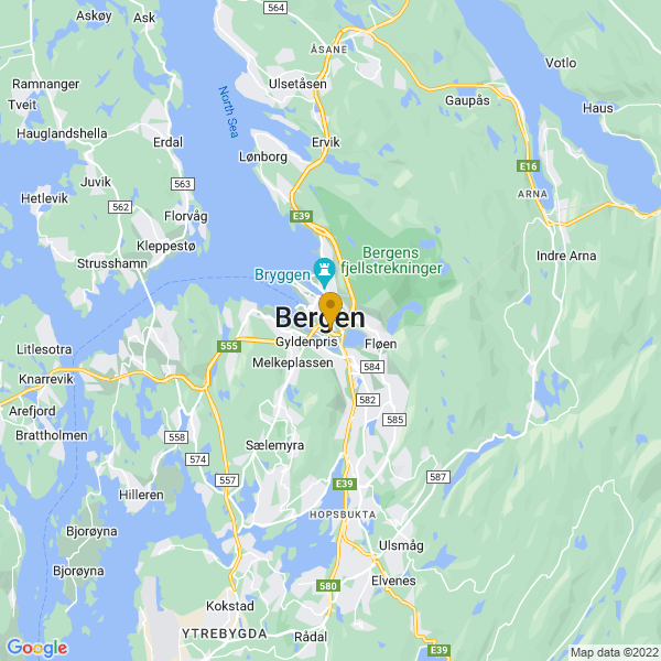 Google Map of 60.38479009999999,5.328482