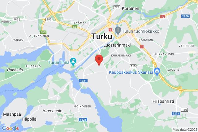 Turun Naisvoimistelijat TNV  Map