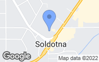 Map of Soldotna, AK