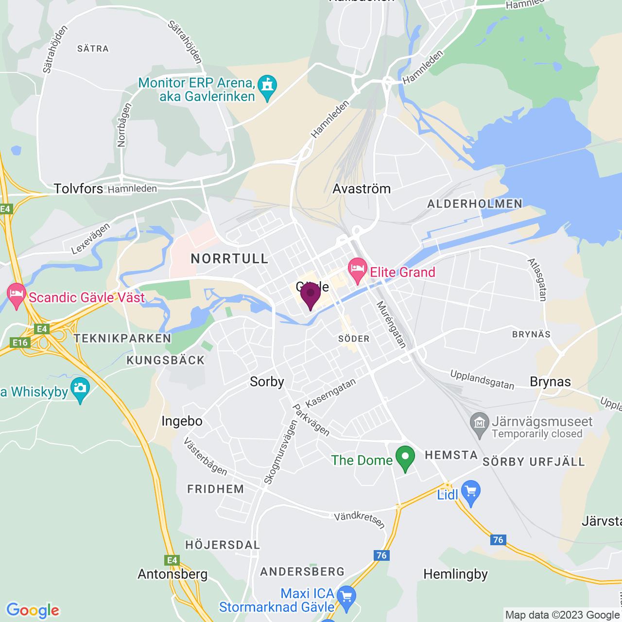 Map of Kyrkogatan 4