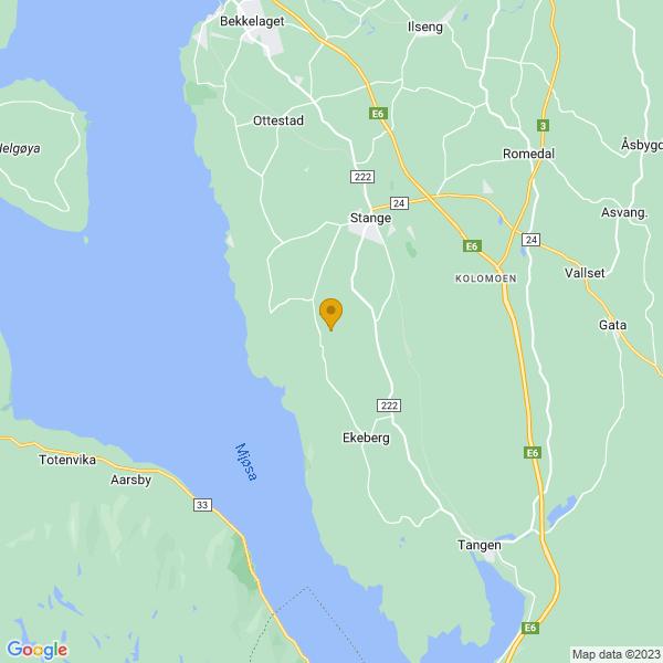Google Map of 60.6830335,11.1688901