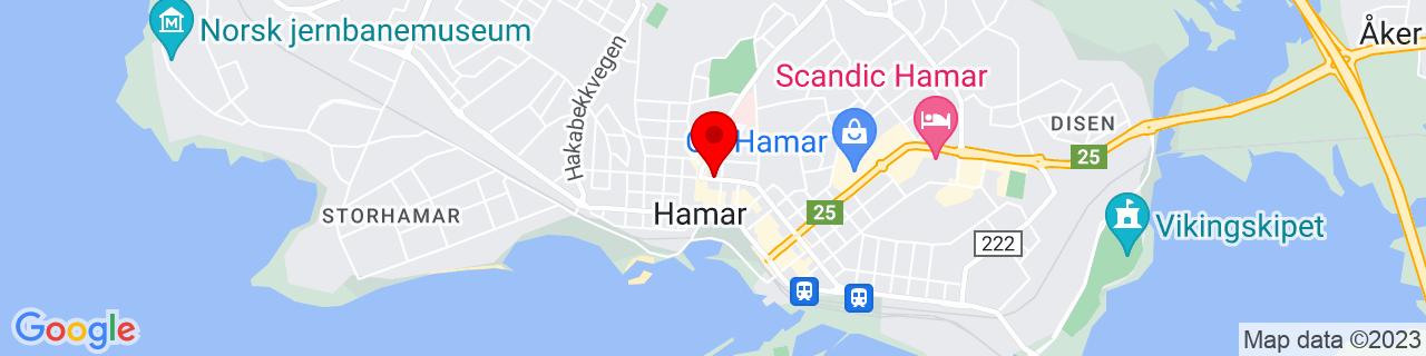Google Map of 60.79588723085738, 11.069138646125793
