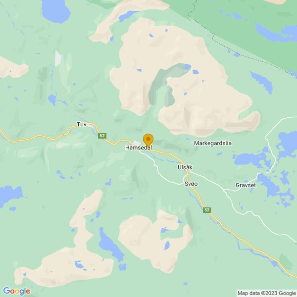 Google Map of 60.862206,8.5656044
