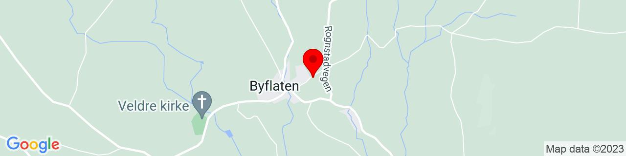 Google Map of 60.92075052426952, 10.910107438659793