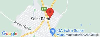 Google Map of 600+notre-dame%2CSaint-Remi%2CQuebec+J0L+2L0