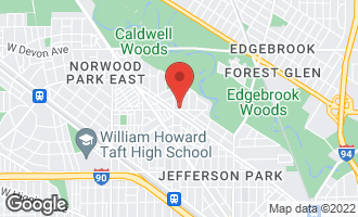 Map of 6004 North Mason Avenue CHICAGO, IL 60646