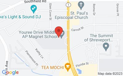 Map of 6008 Youree Drive, Shreveport, LA, USA
