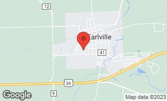 Map of 601 Betty Street EARLVILLE, IL 60518