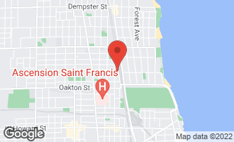 Map of 601 Linden Place #112 EVANSTON, IL 60202