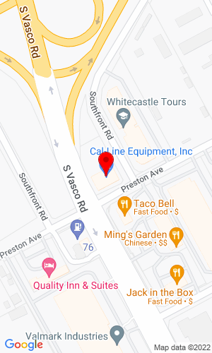 Google Map of Cal-Line Equipment 6010 South Front Rd, Livermore, CA, 94550