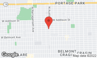 Map of 6019 West Roscoe Street CHICAGO, IL 60634