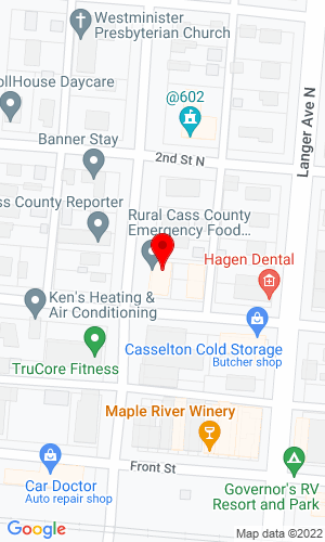 Google Map of Haugen Attachments 602 1st Street N, Casselton, ND, 58102