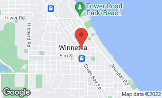 Map of 602 Lincoln Avenue #602 WINNETKA, IL 60093