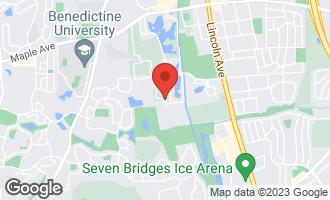 Map of 6020 Oakwood Drive 1M LISLE, IL 60532