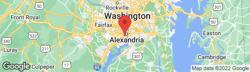 Map of 6025 GROVE DRIVE ALEXANDRIA, VA 22307