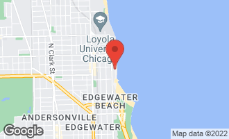 Map of 6033 North Sheridan Road 15D CHICAGO, IL 60660