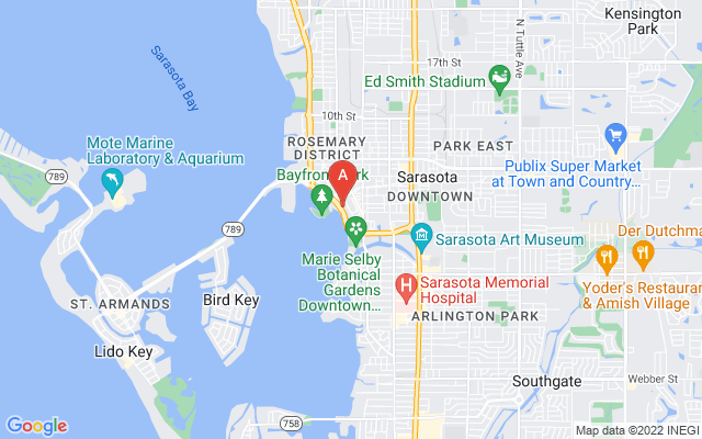 605 S Gulfstream Ave #11 Sarasota Florida 34236 locatior map