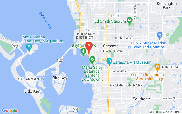 605 S Gulfstream Ave #4N Sarasota Florida 34236 locatior map