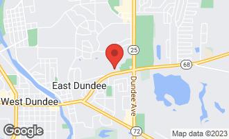 Map of 605 Barrington Avenue #238 EAST DUNDEE, IL 60118