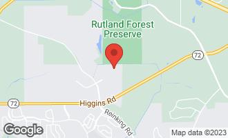 Map of 605 North Falls Circle PINGREE GROVE, IL 60140