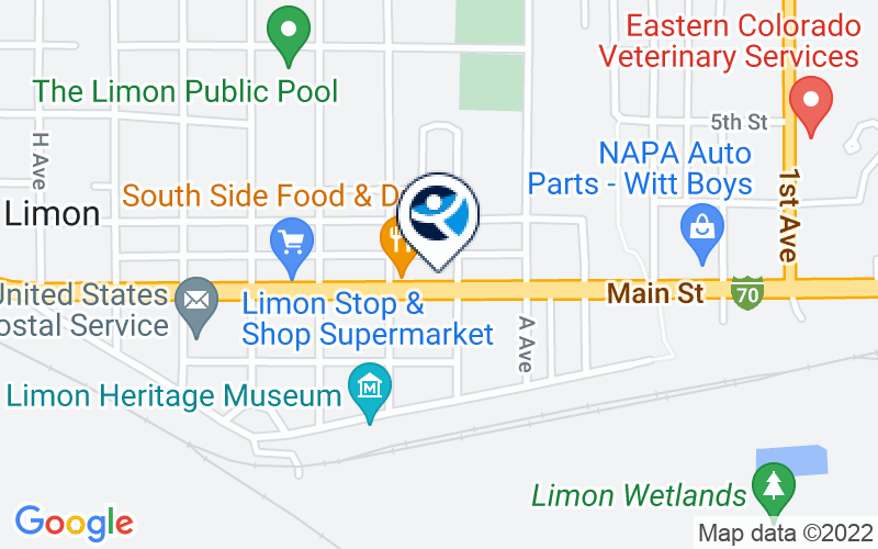 Centennial Mental Health Center - Limon Location and Directions