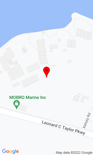 Google Map of Mobro Marine Inc. 606 S.R. 16 East, Green Cove Springs, FL, 32043