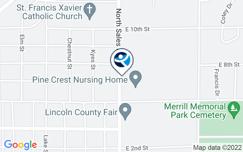 North Central Health Care - Merrill Center Location and Directions
