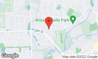 Map of 607 Knoch Knolls Road NAPERVILLE, IL 60565