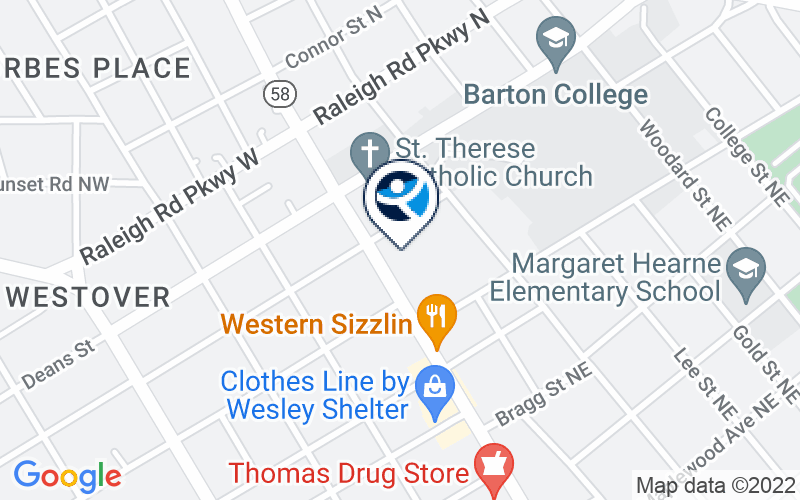 Carolina Outreach - Wilson Location and Directions