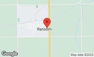 Map of 608 East Harrison Street RANSOM, IL 60470