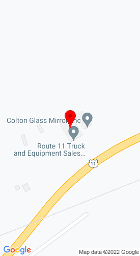 Google Map of Route 11 Truck & Equipment 6085 US State Highway 11, Canton, NY, 13617