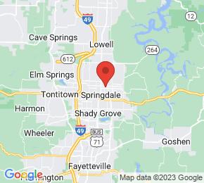 Job Map - 609 W. Maple Ave. Springdale, Arkansas 72764 US