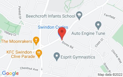 Map of Bike Fit @ Swindon Cycles