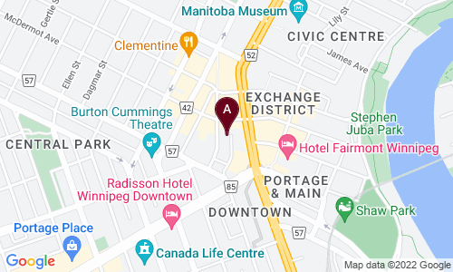 map of J&P LUNCH EXPRESS
