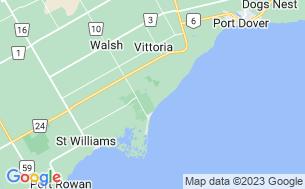 Map of Hidden Valley RV Resort